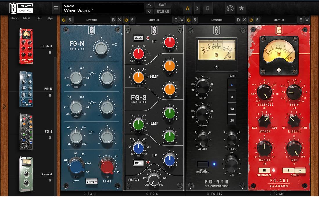 Test: Channelstrip-Plug-in Slate Digital Virtual Mix Rack