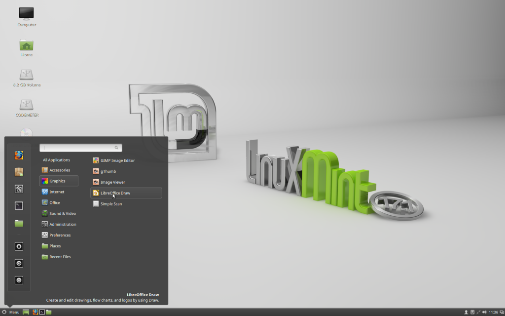 Linux Mint 17 Cinnamon