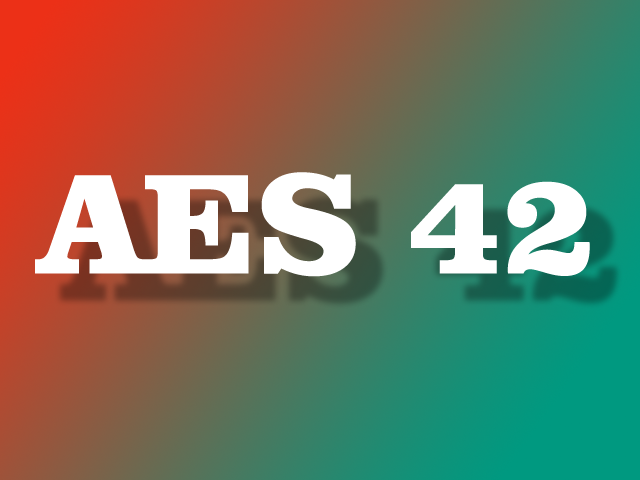Know-how: Was versteht man unter AES 42?