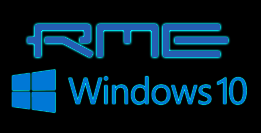 News: Mit RME Windows 10-sicher