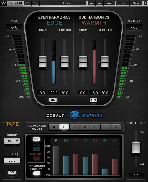 News: Neues Waves-Plug-in Cobalt Saphira