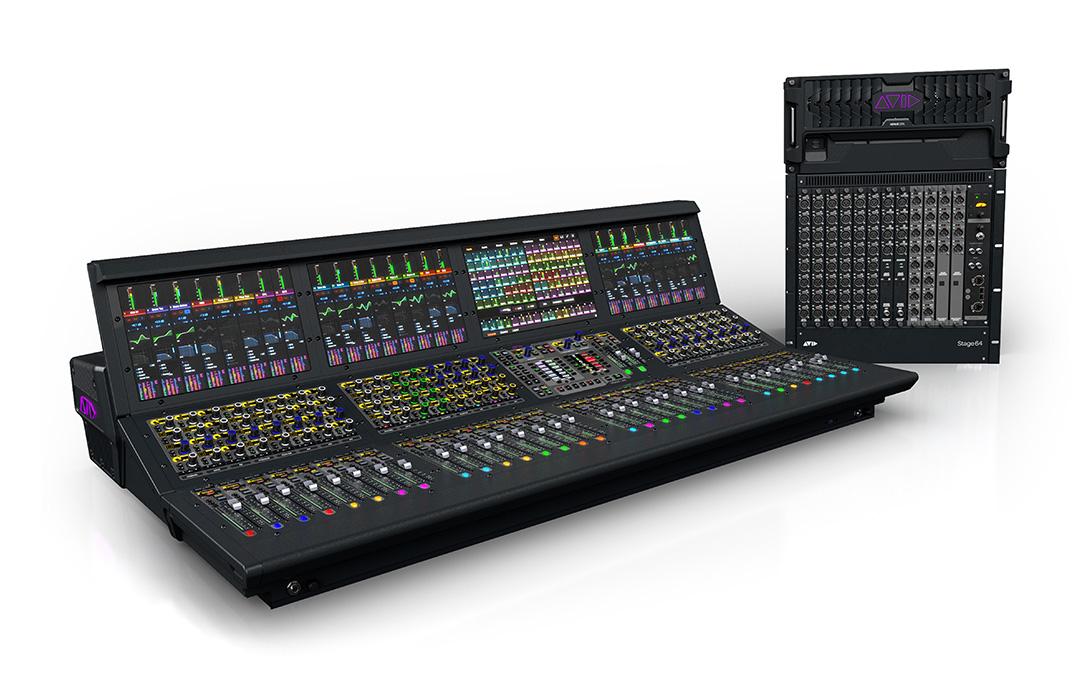 News: Soundgrid-Technik zukünftig auch in Avid Venue S6L