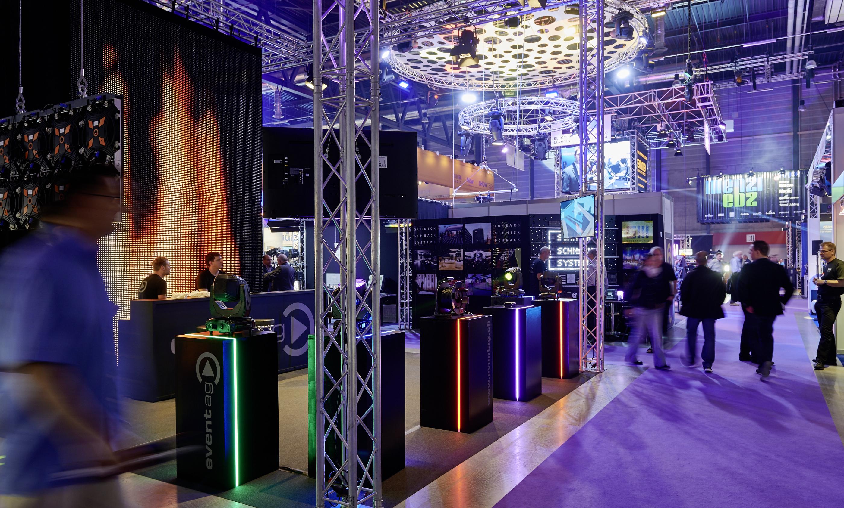 News: Messe Luzern AG organisiert zukünftig Light&Sound