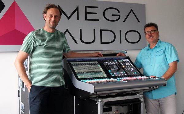 News: Mega Audio wird Live-Partner von SSL