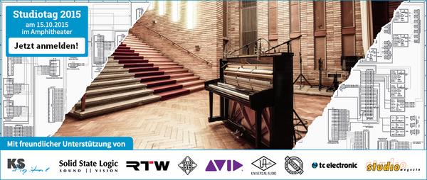 News: Thomann Audio Professionell Studiotag 2015