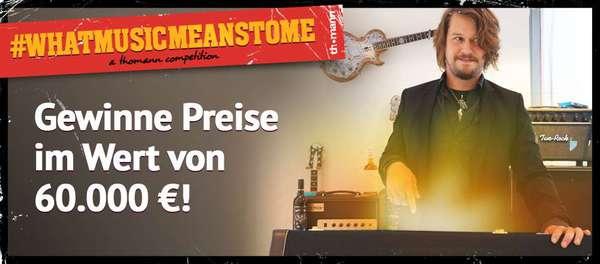 News: Gewinnspielreihe #WhatMusicMeansToMe von Thomann