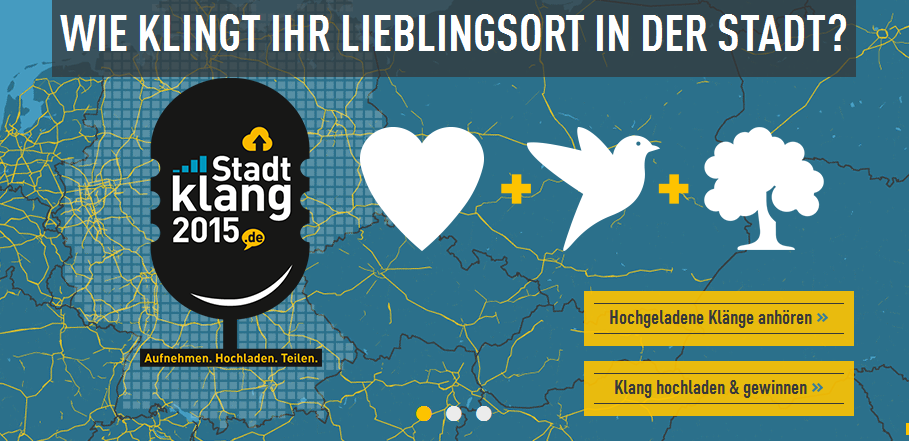 News: Stadtklang 2015: Mitmach-Aktion zur Stadtakustik