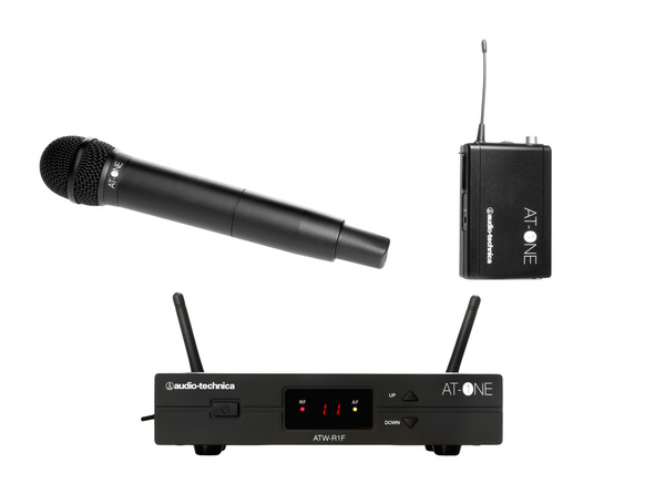 News: UHF-Wireless-System Audio-Technica AT-ONE