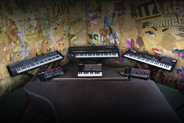News: Synthesizer-Neuauflagen von Roland