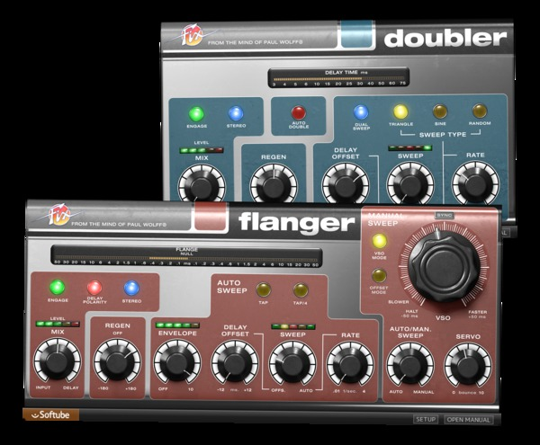 News: Neues von Softube: Fix Flanger, Fix Doubler und Marshall Legends