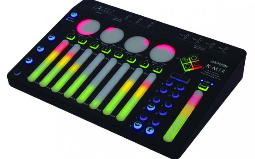 News: K-Mix: Audio-Interface und programmierbarer Mixer von Keith McMillen