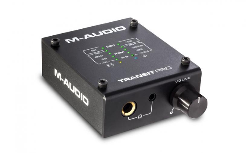 News: Transit Pro: Hochauflösender Audiowandler von M-Audio