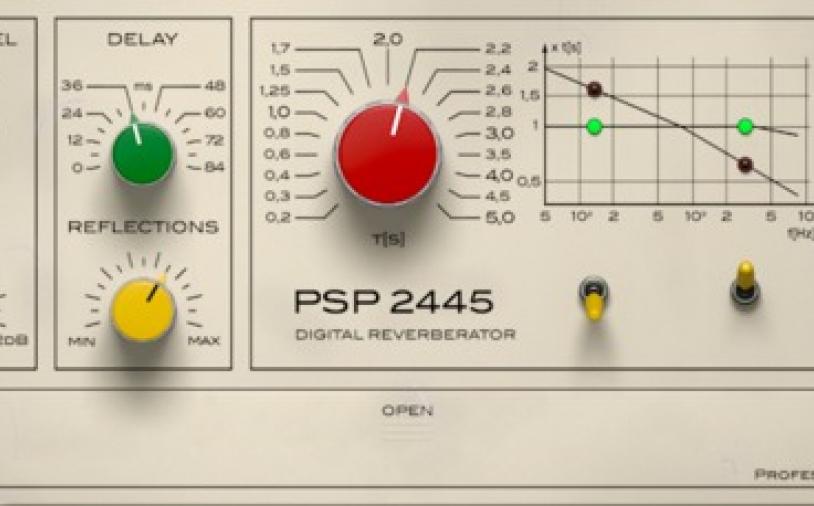 News: PSP Audioware präsentiert EMT-Hallgeräte als Software-Version