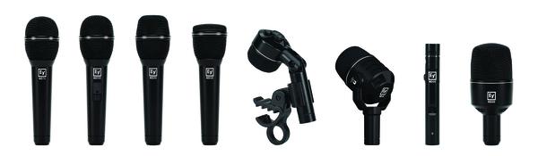 News: Neue Electro-Voice-Mikrofonreihe