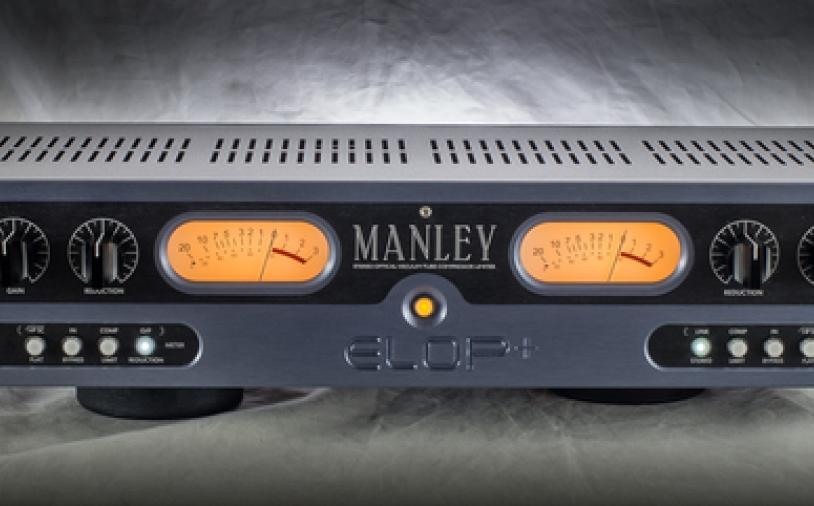 News: Manley ELOP+ mit integriertem Stereo-Kompressor