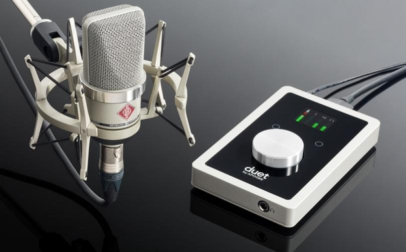 News: Home-Recording-Bundle von Apogee und Neumann