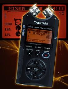 Test: Stand-alone-Recorder Tascam DR-40Tascam DR40