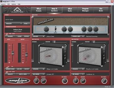 Test: Gitarren-Amp-Simulation Audiffex Amplion