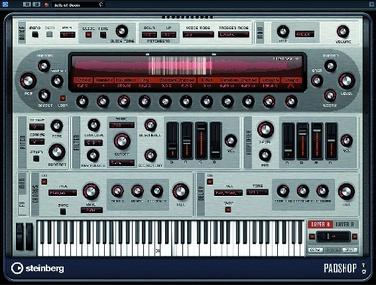 Test: Virtueller Synthesizer Steinberg Padshop