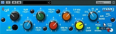 Test:  Equalizer-Plug-In Mäag EQ4