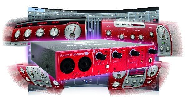 Test: Audio-Interface Focusrite Scarlett 8i6