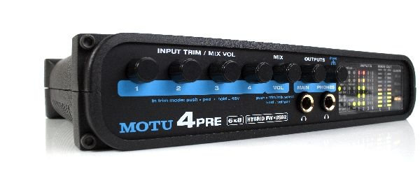 Test: Audio-Interface Motu 4pre