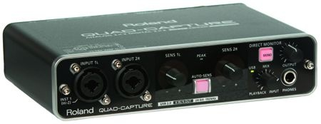 Test: Audio-Interface Roland Quad-Capture