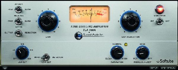 Test: Kompressor-Plug-In Softube Summit Audio TLA-100A