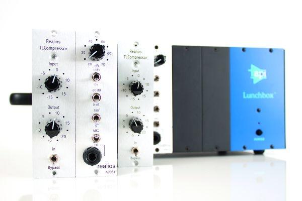 Test: Api-500 Module AnaMod Realios A9031 & AnaMod Realios TLCompressor