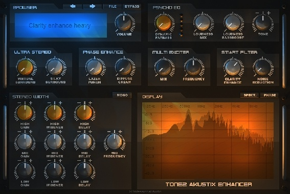 Test: Enhancer Plug-In Tone2 Akustix