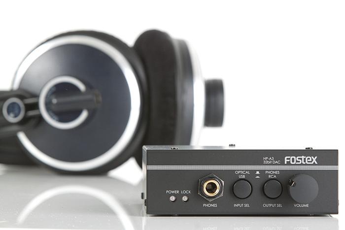 Test: D/A-Wandler und Kopfhörerverstärker Fostex HP-A3