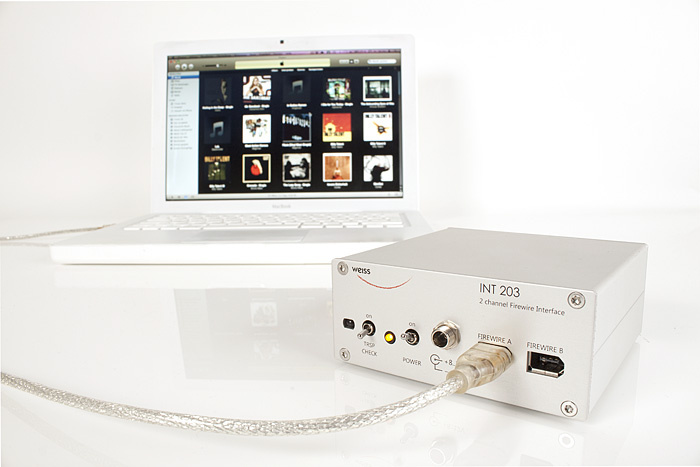Test: Firewire-Interface Weiss INT 203