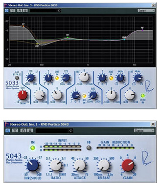 Test: Plug-In-Bundle Steinberg  RND Portico 5033Q / 5043 Compressor