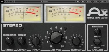 Test: Effekt-Plug-In Waves Aphex Vintage Aural Exciter