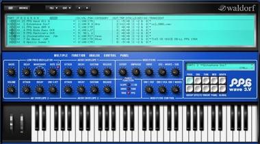 Test: Virtuelles Instrument Waldorf PPG Wave 3.V