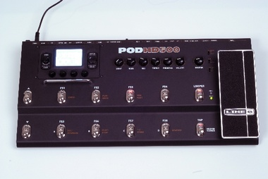 Test: Gitarrenverstärker und Effektemulations-Pedal Line 6 POD HD500