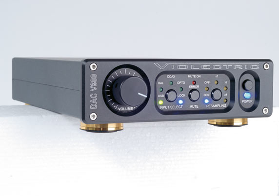 Test: Digital-Analog-Wandler Violectric DAC V800