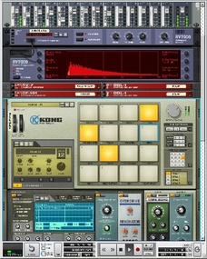 Test: Virtuelles Instrument/Sequenzer Propellerhead Reason 5 und Record 1.5