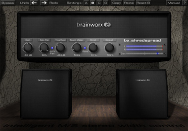 Test: Softwaretool Brainworx bx_shredspread