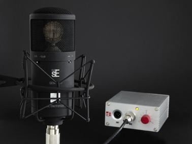 Test: Röhren-Großmembran-Mikrofon SE Electronics Gemini III