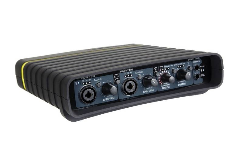 Test: Firewire Audio-Interface TC Electronic Impact Twin