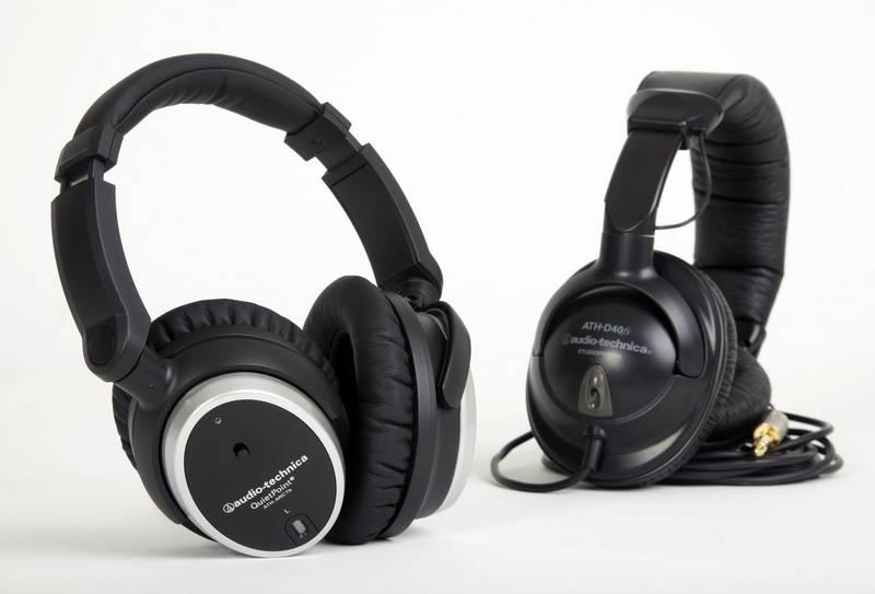 Test: Kopfhörer Audio-Technica ATH-ANC7B & ATH-D40fs