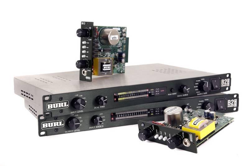 Test: DA-Wandler und Vorverstärker Burl Audio B2 Bomber ADC und DAC, B1 und B1D