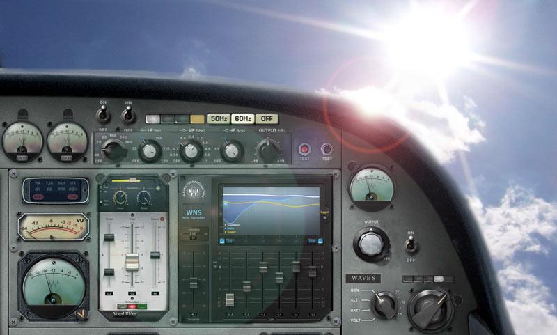 Test: Emulations-Plug-Ins Waves Vocal Rider und WNS