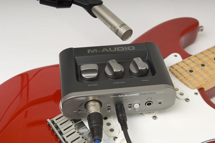 Test: Audio-Interface M-Audio Fast Track