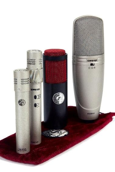 Test: Kondensatormikrofone Shure KSM44, KSM137, KSM141, KSM 313