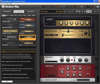 Test: Gitarren-Amp-Simulation Native Instruments Guitar Rig 4 Pro