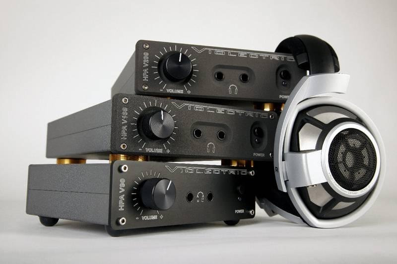 Test: Kopfhörer-Verstärker  Violectric V90, V100, V200