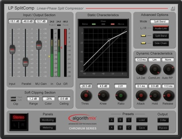 Test:  Kompressor Plug-in Algorithmix LPSplitComp