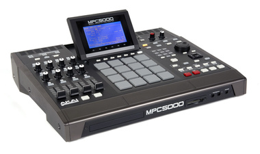 Test: Groove Box Akai MPC5000
